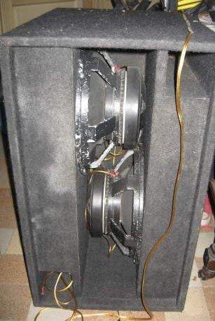 et voila mes caisson bass 2500w