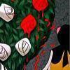 「 Peignons ces Roses en Rouges. 」