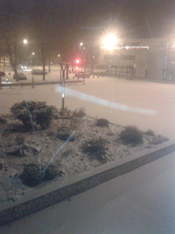neige sur crepy ce soir image faite en ce moment