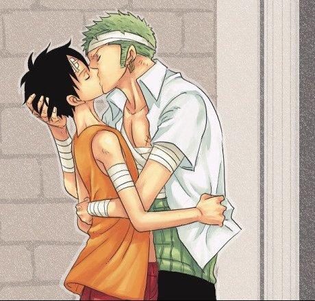 Zo/Lu (un couple que j'affectionne beaucoup !Surtout dans un lit ^^')