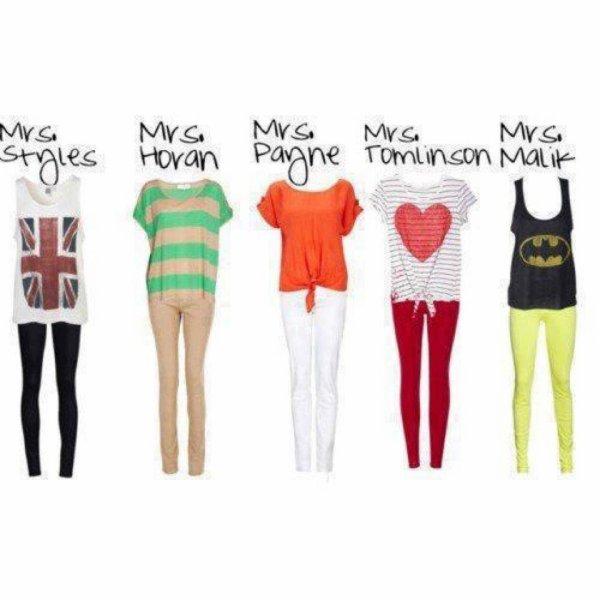 J'adore ces tenues!!!!!