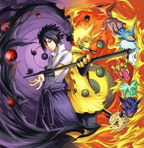 sasuke <3 naruto