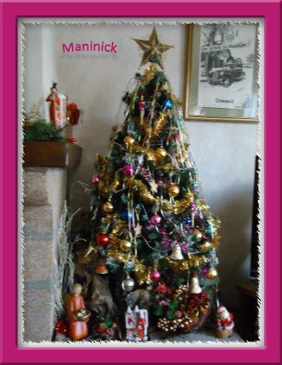 Le Sapin de Noël est décoré !
