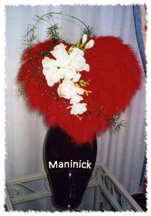 St Valentin : Mon Coeur en plumes ...