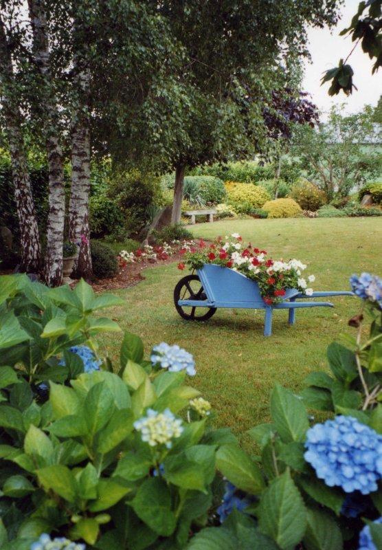 Une Petite visite au Jardin !