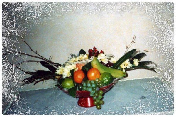 Coupe Fleurs et Fruits !