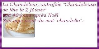 Vive la Chandeleur !!!