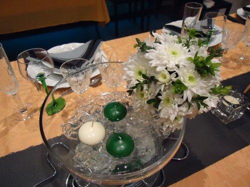 Boule de Fleurs pour mes invités...