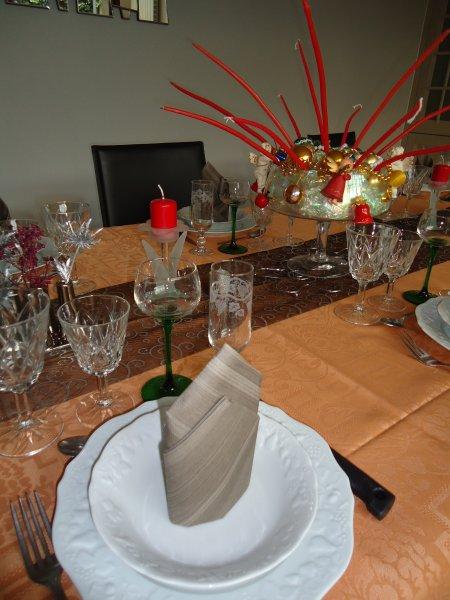 Ma table de Noël ....