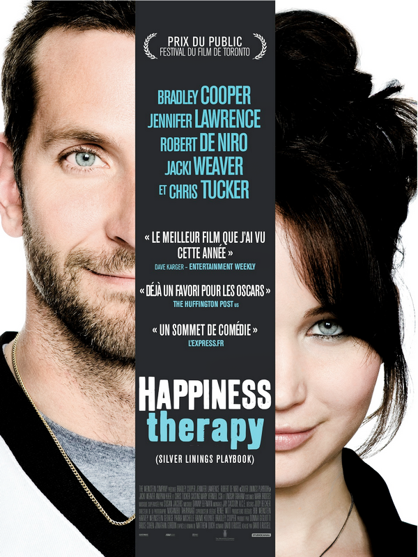 Silver Linings Playbook : nouvelle affiche et BO