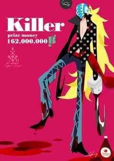 one piece fanfic :zoro x killer (part2)