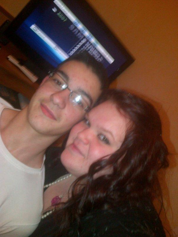 mon cousin  alban et moi