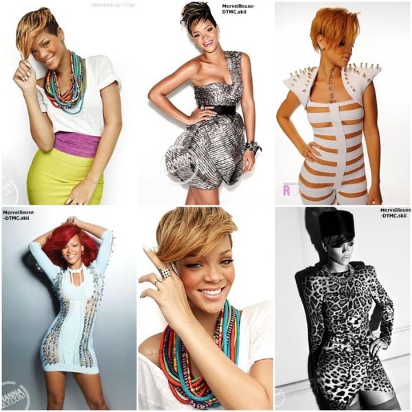 Rihanna sort le grand jeux , des photoshoot  toujours magnifique . Mais laquelle est ta préférais ??