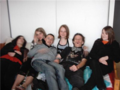 ! Jennifer, Aline, Guillaume, Moi, Yoann et Marine !