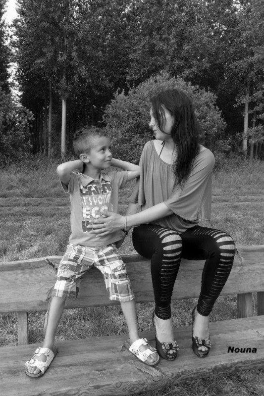 moi et mon fils le 09 juin 2014