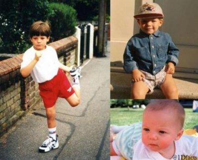 One Direction : Les photos de leur enfance !