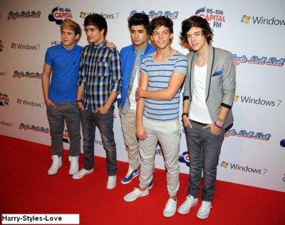 One Direction : Un concert exceptionnel à l' O2 Arena de Londres (Vidéo)