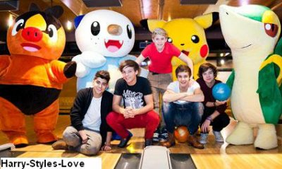 One Direction : Le photoshoot pour Nintendo (Photos)