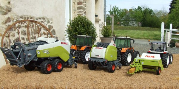 Photo de famille presse CLAAS