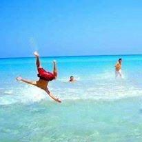 Moi dans la mer