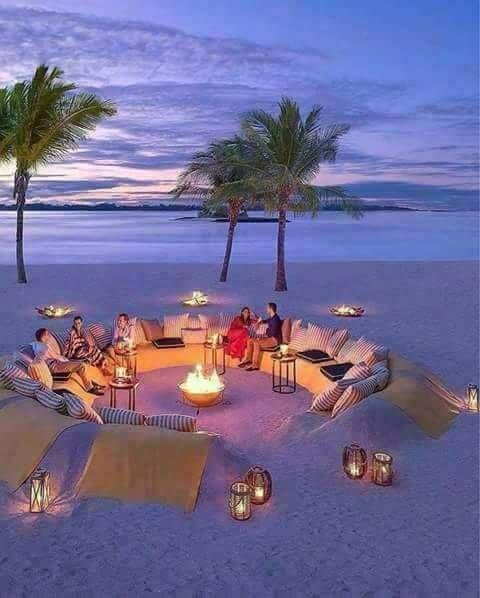 Bon douce romantique soirée ; En Tunisie 🇹🇳