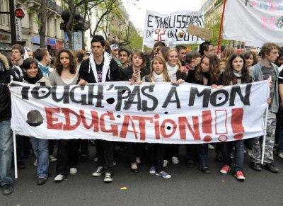 Mobilisations Lycéennes 2008-2009