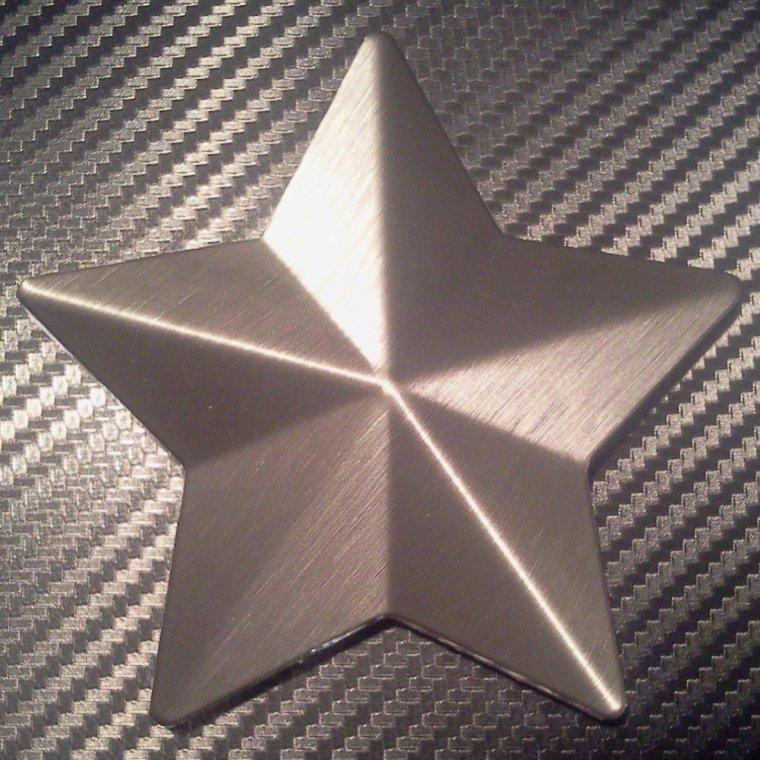Film vinyle aluminium brossé 3D