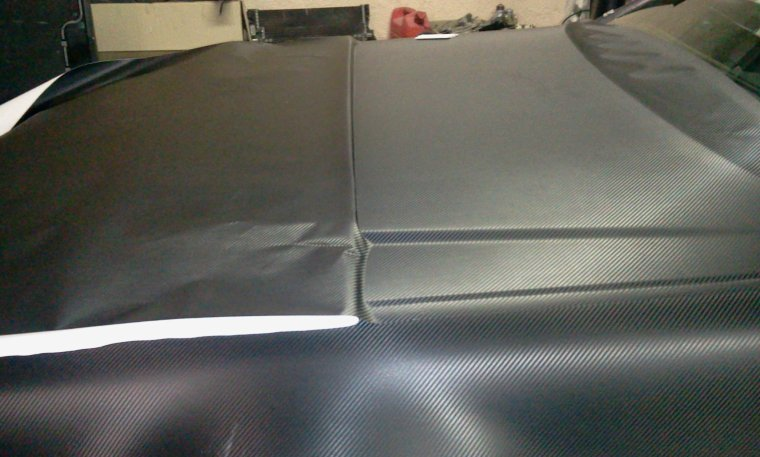 Mercedes SL 500 Total Black Carbon RoyalCovering