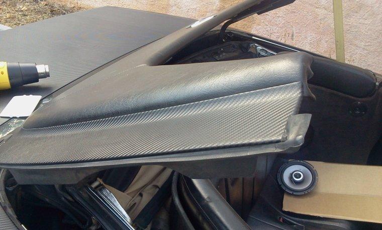 Mercedes SL 500 Total Black Carbon RoyalCovering (part 2)