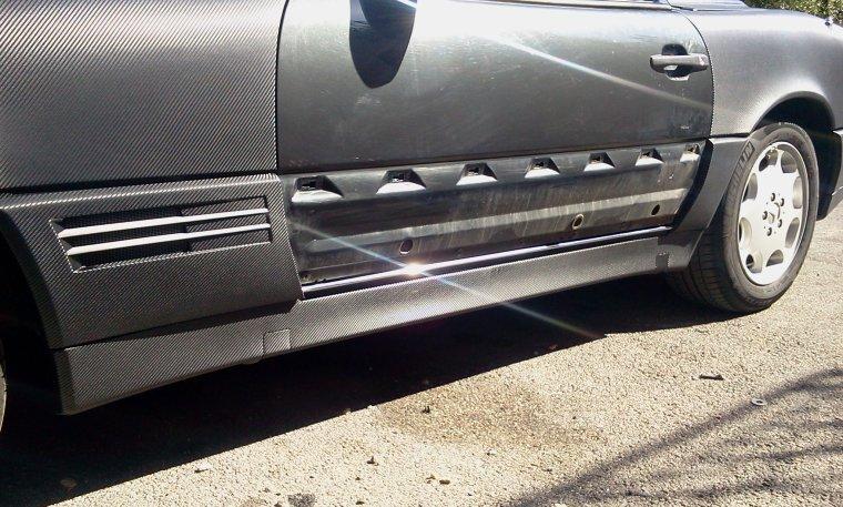 Mercedes SL 500 Total Black Carbon RoyalCovering (part 3)