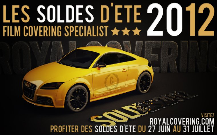 SOLDES ETE 2012 FILMS COVERING !!!