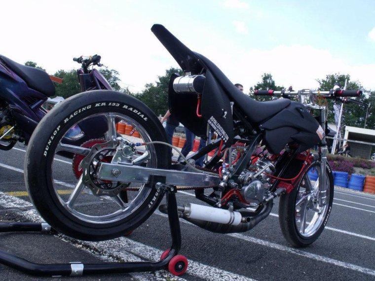 Moto d'un de nos client présent au Scooter Power 2012