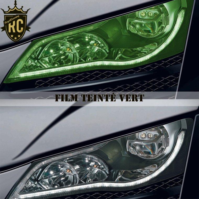 Nos films teintés pour phares