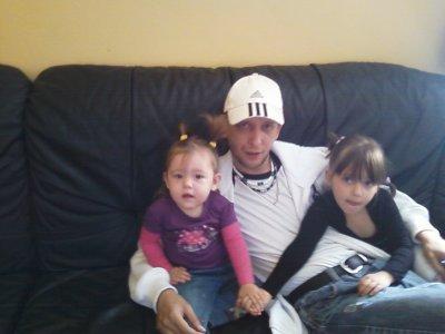 Mes petites filles et leur papa