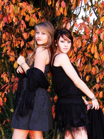 Ma soeur et moi. <3