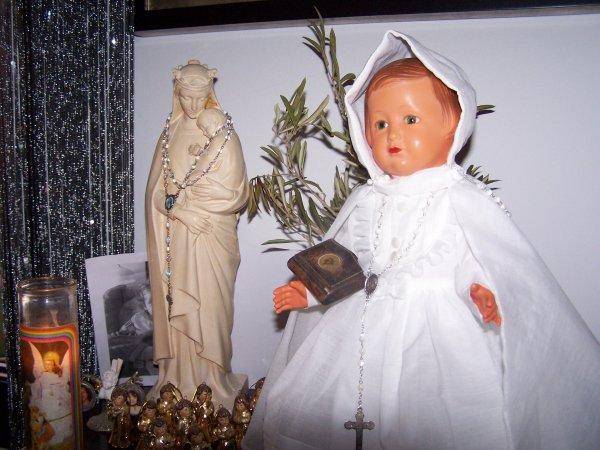 Communion de Françoise à la Basilique Nôtre Dame de la Garde !