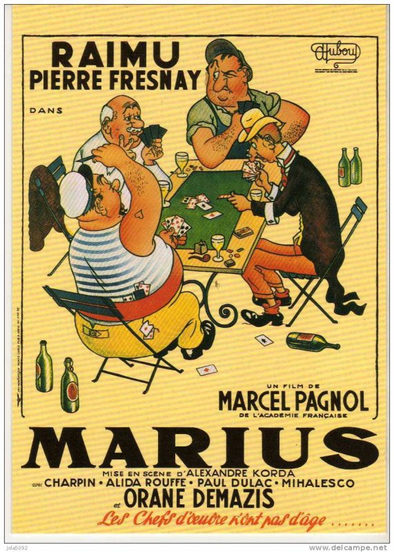 bar de la Marine ! quai du port de Marseille !