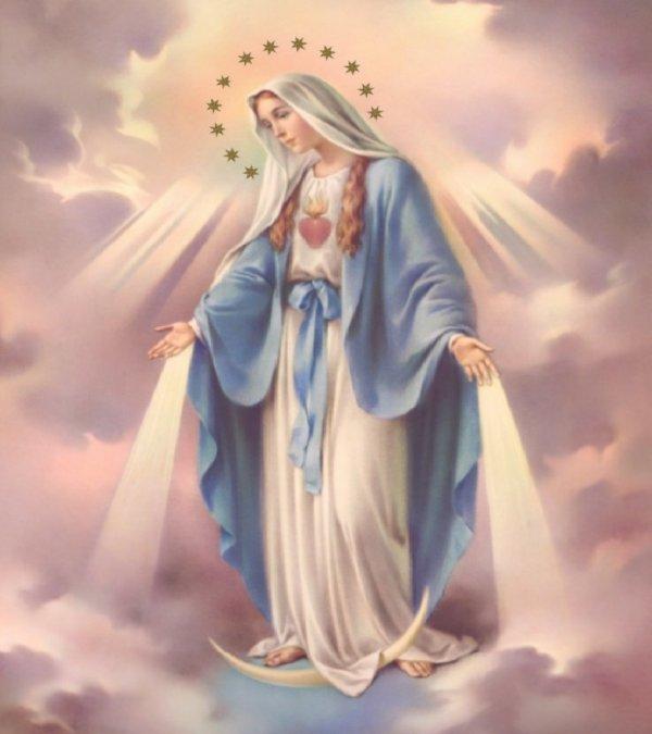 Bonne fête de l'Assomption  ! prions Nôtre Sainte Vierge Marie - Reine du  Ciel pour la Paix dans le monde