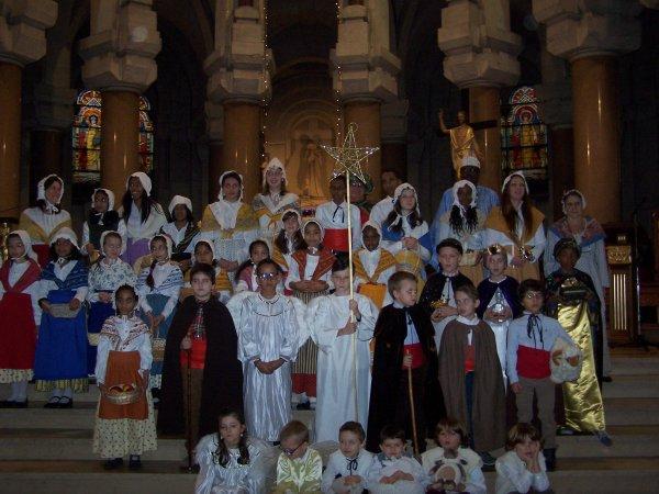 Messe de Noël avec la crèche provençale au Sacré Coeur !