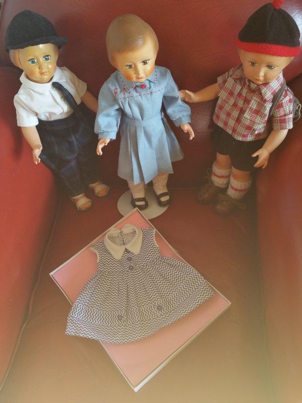La robe de Françoise est arrivée  J+1  !!!!