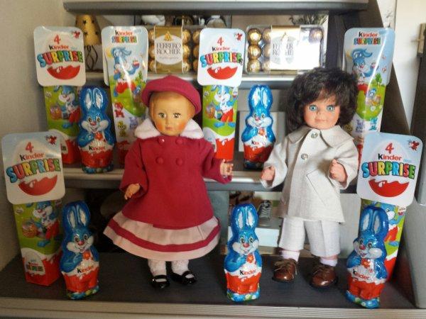 Achat des chocolats de Pâques ! Françoise et Jean-Michel en course !