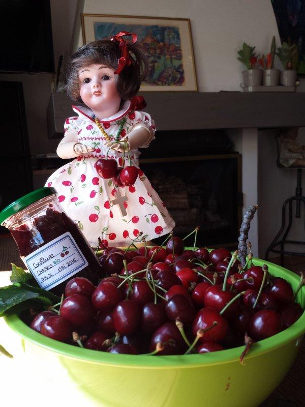 les Premières cerises d'Auriol !