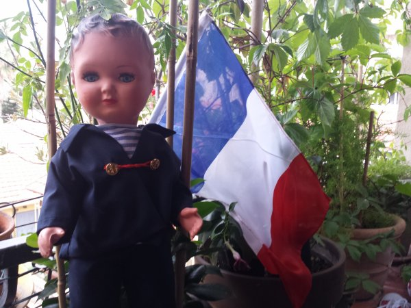 Allez la France !!  Ce soir match à Marseille avec l Bob !