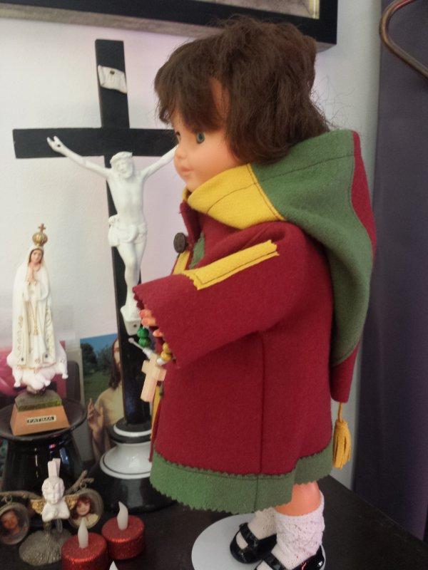 Messe du mercredi des cendres avec mon duffle coat !