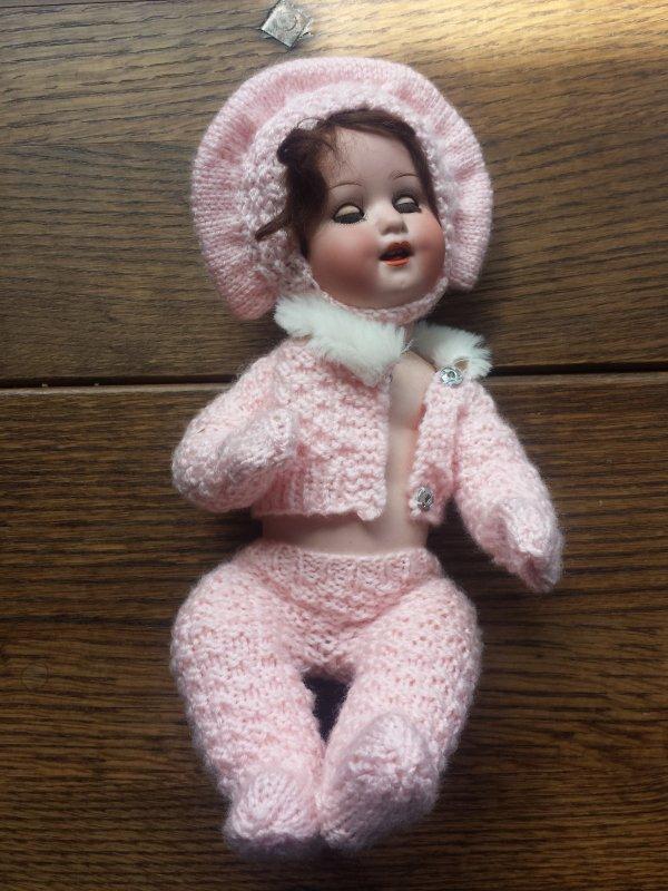 Ma jolie fifille n'aura pas sa layette rose nanouk  !!!  trop dodue c'est un bébé gros mangeur