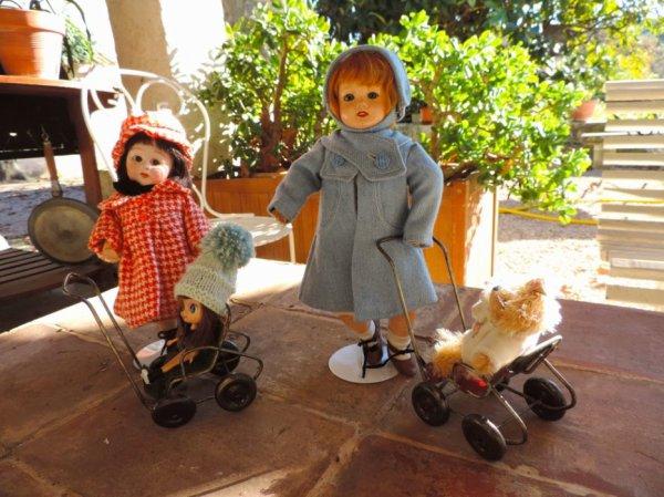 Même refrain chez des poupées !!!! j'ai chaud ! jai chaud ! c'est l'été !