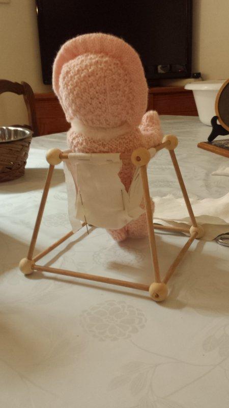 Bricolage pendant les congés ! après le berceau voici le youpala simplifié  pour Bambino