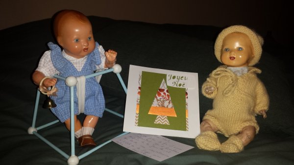 Bambino vous fait partager la jolie carte réalisée par Christine ! merci encore du fond du coeur mon amie !