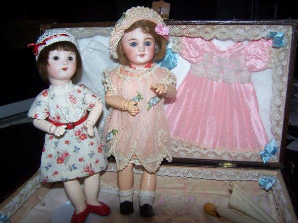 La chandeleur  ! Marie Rose et Loulotte attendent l'arrivée les navettes !