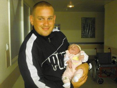le 18 aout 2010 avec son papa